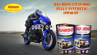 Nhớt 4T SUMDO FULLY SYNTHETIC 10W40-SN/ 1L
